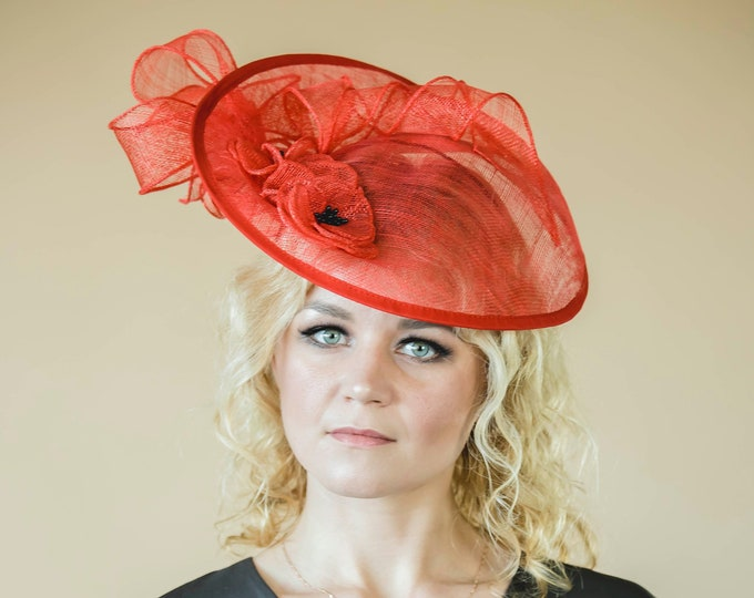 Royal Ascot fascinator hat, Mother of bride headpiece