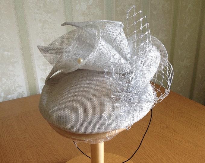 Mother of bride fascinator hat, Royal Ascot hat