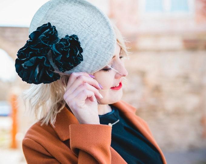 Wedding headpiece, Royal Ascot fascinator hat