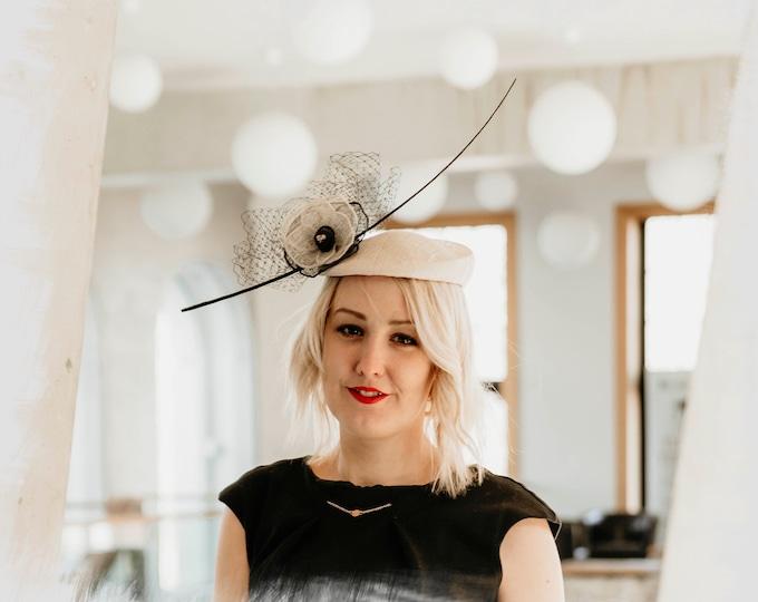 Royal Ascot fascinator hat wedding millinery