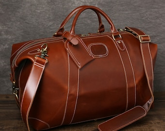 Handmade Full Grain Distressed Leather Travel Bag Weekend Bag Leather  Duffel Bag Men Duffle Bag Holdall Carry On Overnight Bag Hoilday Bag b242e44353