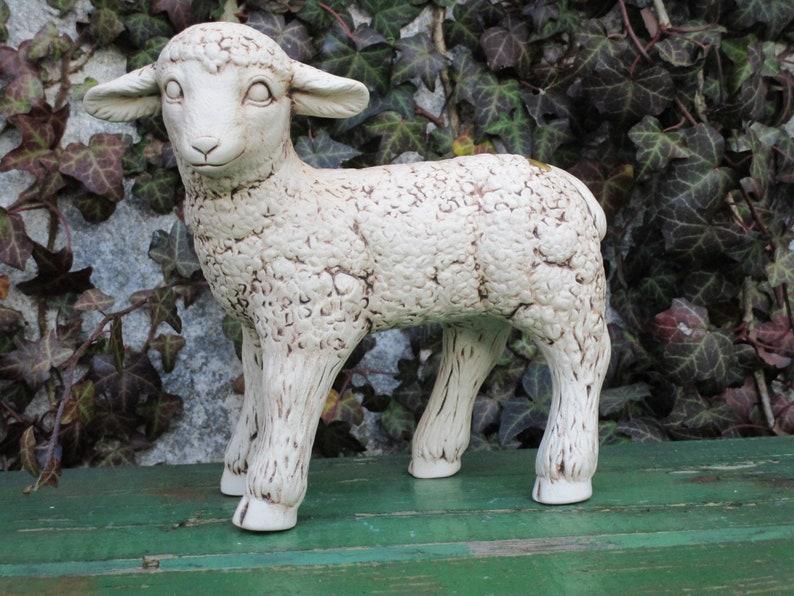 Décoration d\'extérieur Mouton/Agneau-Sculpture décorative de ...