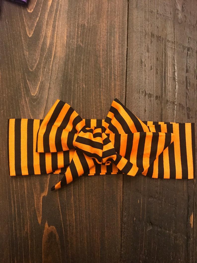 Halloween baby girl headwraps