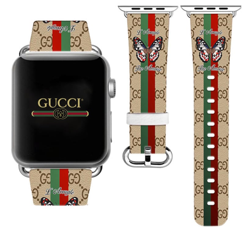 b64173c10e6 Apple Watch 42mm Inspired by Gucci iWatch 40mm iWatch Band