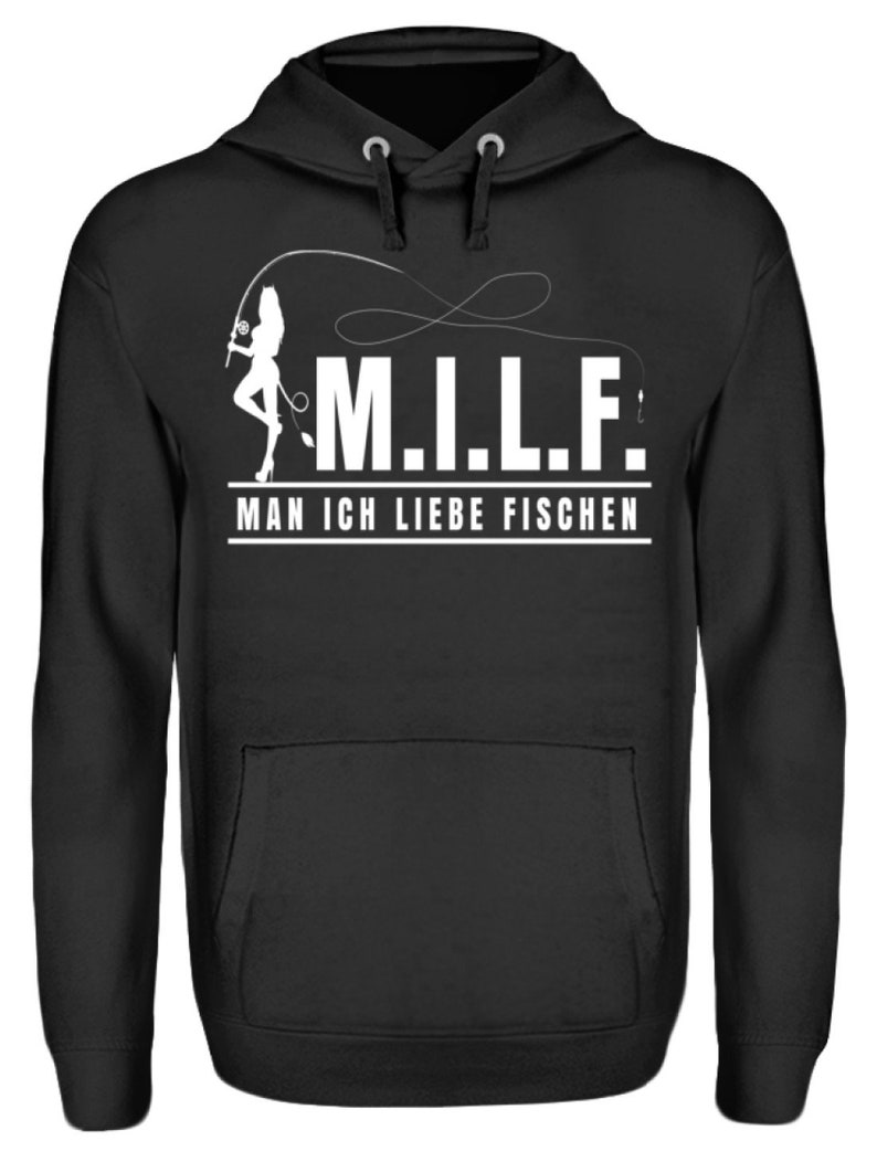 M.I.L.F Man I Love Fishing-Unisex Hooded Wumper Hoodie