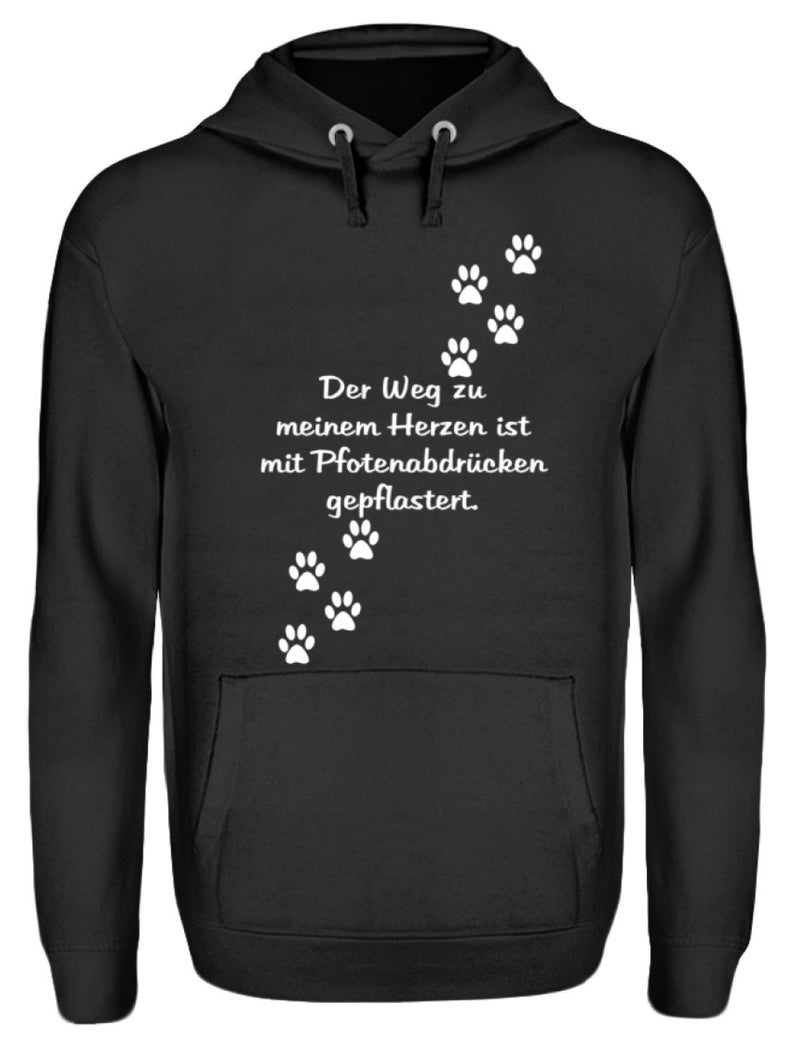 Limited edition ie dog paws-unisex hooder