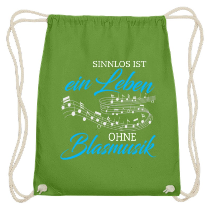 Brass music shirt \u00b7 Musikverein \u00b7 Gift for musicians \u00b7 Same Life Without Brass Music-Cotton Gymsac