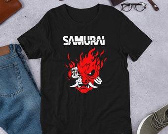 d34a5d7c Samurai T-Shirt Cyberpunk 2077 Shirt