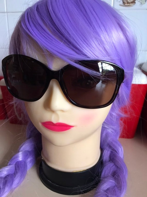 1990's Genuine Chanel Cateye Sunglasses & original
