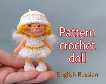 Christmas Angel Crochet Pattern Roundup! | Muñeca amigurumi, Amo ... | 270x340