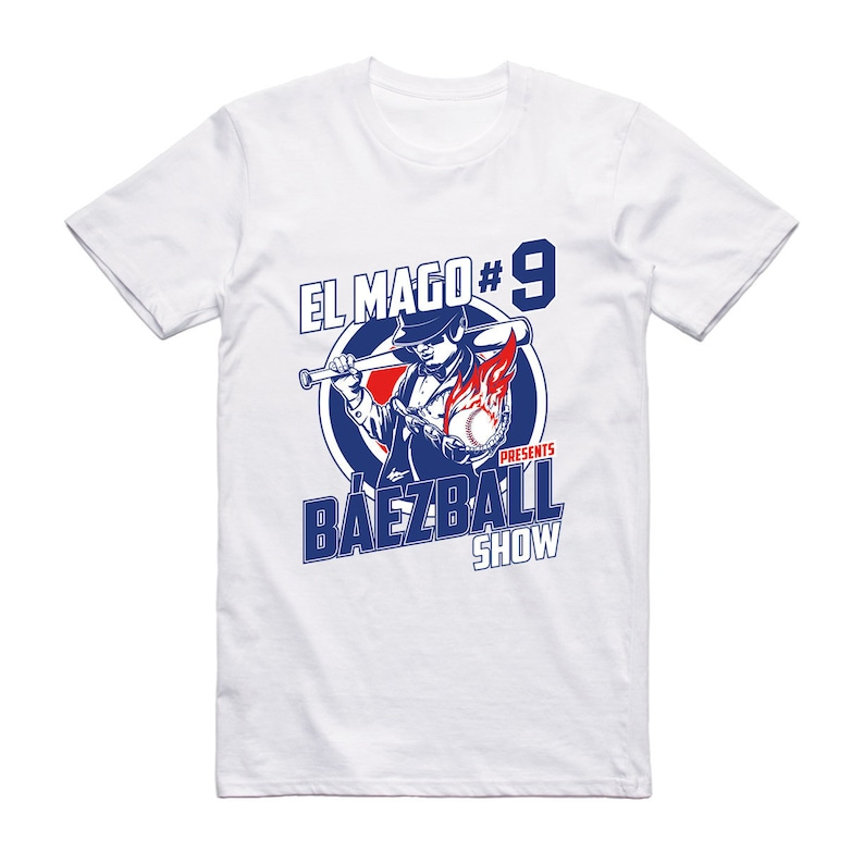 huge selection of 080b6 d1d5b El Mago shirt Chicago Game Day T-shirt Gift Baseball Fan Art Tee