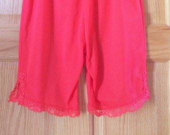 Vanity Fair Hot Pink Briefs Style 358 Ladies Knickers Embroidered Floral shorts