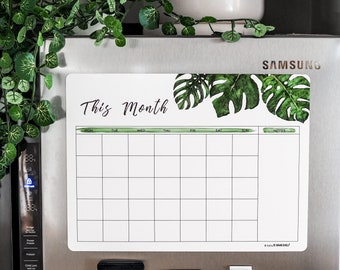 Monstera This Month Magnetic Planner