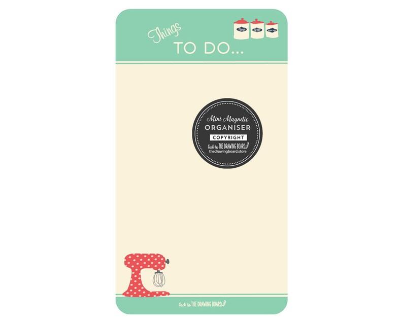 image 0  sc 1 st  Etsy & Magnetic fridge organiser/To Do list/Whiteboard To Do | Etsy