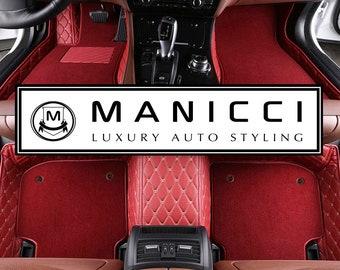 Manicci Custom Car Mats Luxury Leather By Manicciluxurycarmats