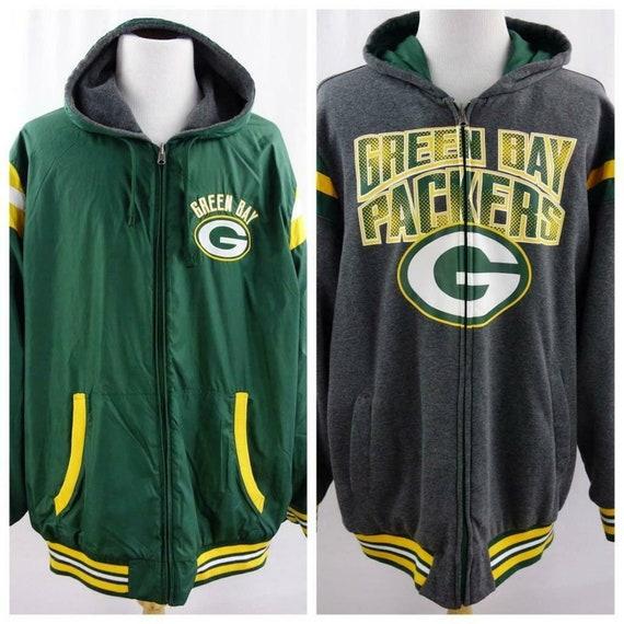 NFL Green Bay Packers Reversible Jacket