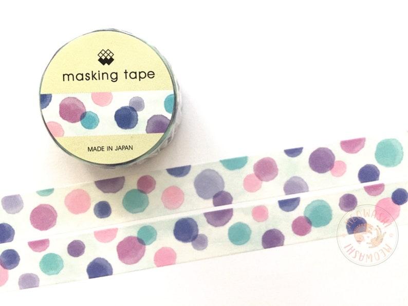 Dots washi tape Mind Wave