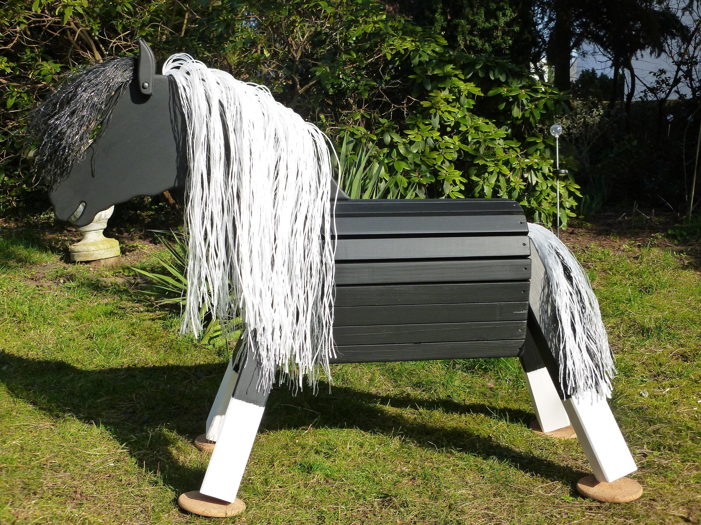 holzpferd holzpony voltigierpferd pferd pony | etsy