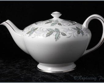 Lenox Tuscan Vine Covered Tea PotLenox Tuscan Vine Fine China Tea Pot WLid Design By Louise Le Luyer