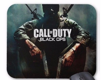 a735c4f788c Call Of Duty Black Ops Desktop Computer Mouse Mat Pad Rectangular 5mm Very  Thick