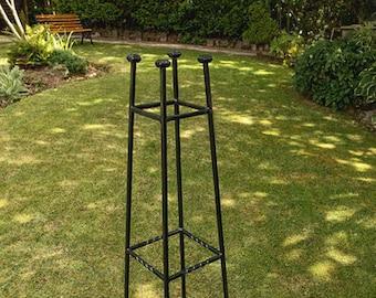 Handcrafted Bespoke Garden Obelisks
