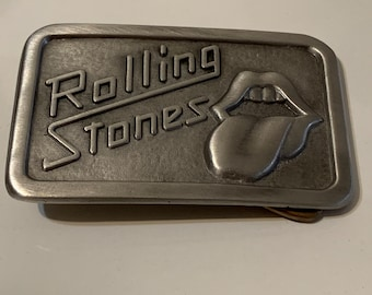 Brooks and Dunn Metal Sturdy Belt Buckle Pewter Country Music