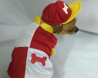 Giddy Up - Jockey Silks for dogs with cap, super cute and perfect for a horse racing lover