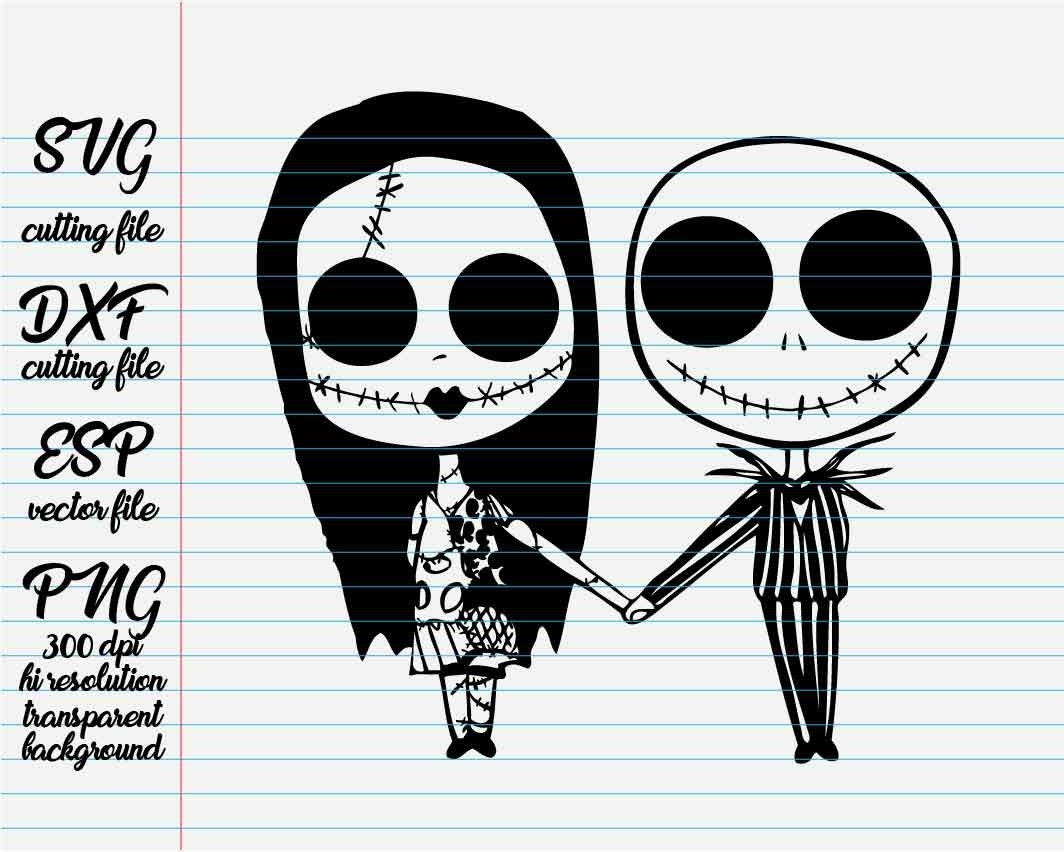 the nightmare before christmas jack and sally/ Disney Quotes | Etsy