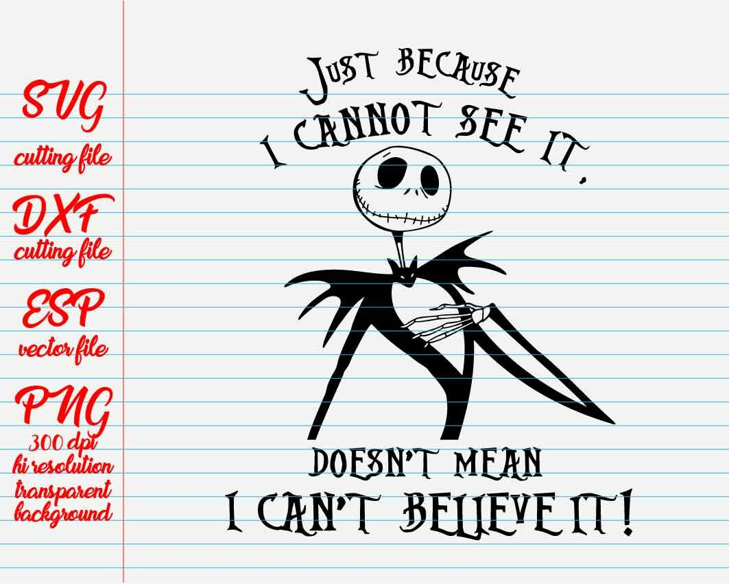 the nightmare before Christmas quote / Disney Quotes /quote svg / quote clipart / family quote / SVG file for cut