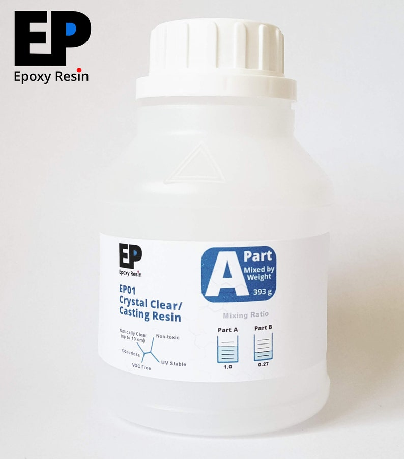EP EpoxyResin: Casting Resin - High-Quality, Non-Toxic, Odourless, UV  Stable, 1-0 27 Mix Ratio - 0 5, 1 0, & 1 5 kg Sizes available