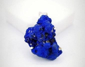 26x20\u04459 mm Azurite geode slise Russian azurite