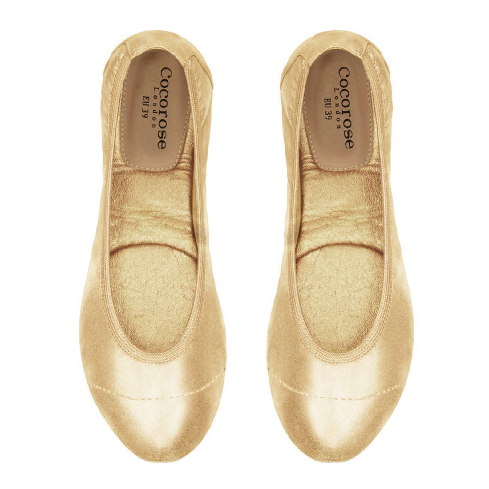 cocorose foldable shoes - barbican ladies ballet pumps
