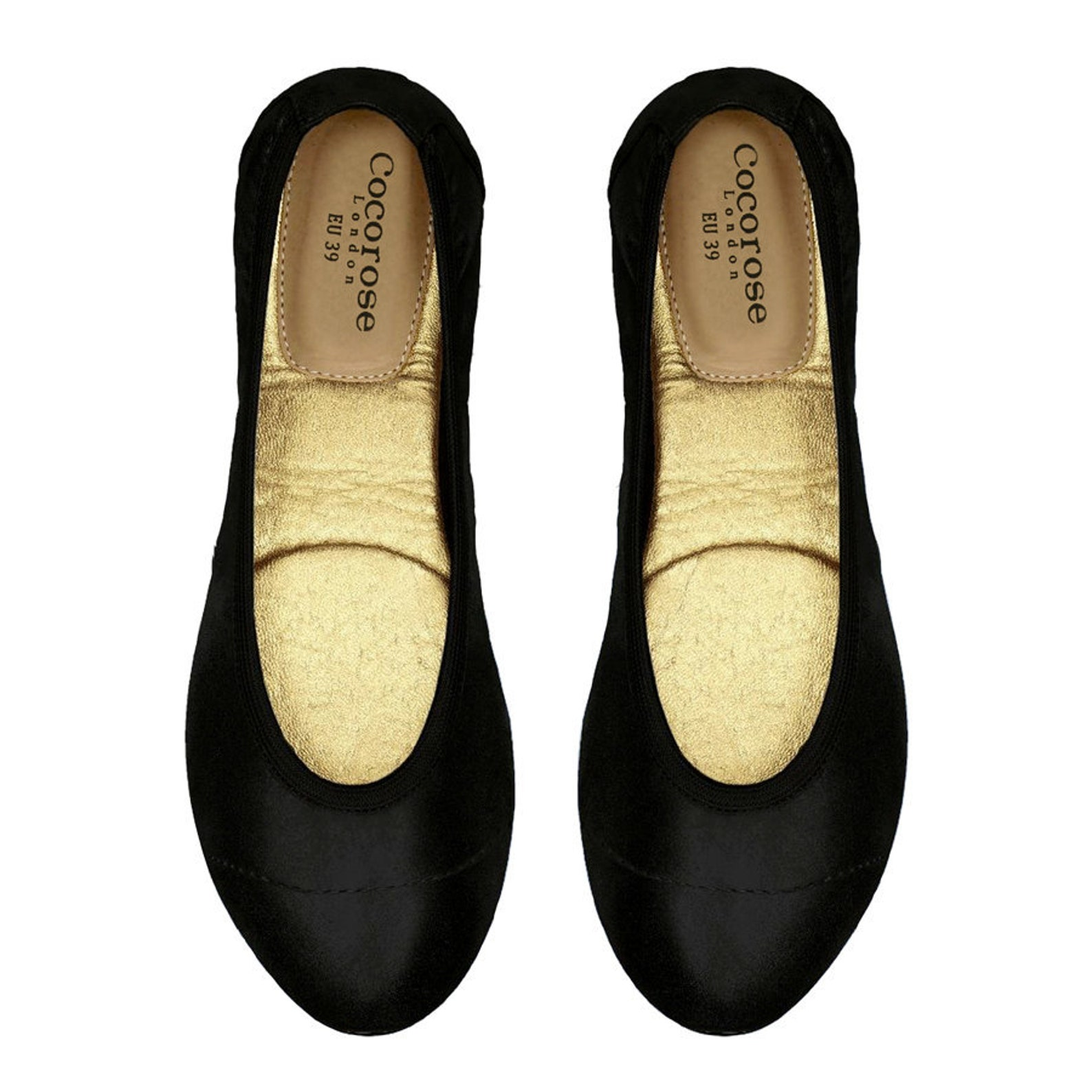 cocorose foldable shoes - barbican ladies ballet pumps