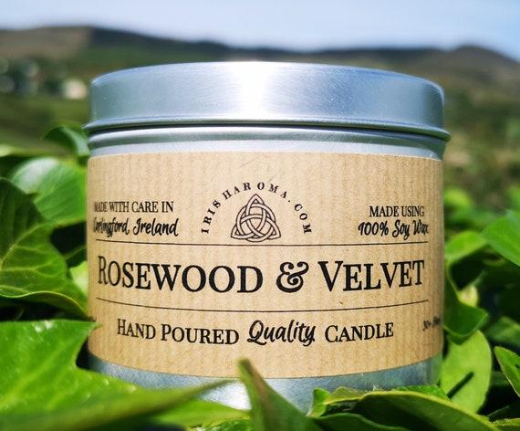 Rosewood & Velvet - Handmade Soy Candle