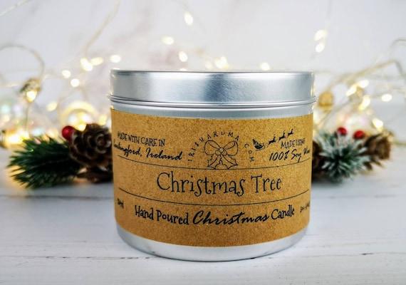 Christmas Tree - Handmade Soy Festive Candle
