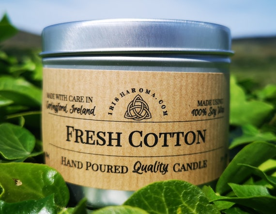Fresh Cotton - Handmade Soy Candle