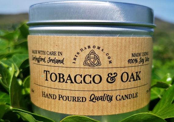 Tobacco & Oak - Handmade Soy Wax Candle
