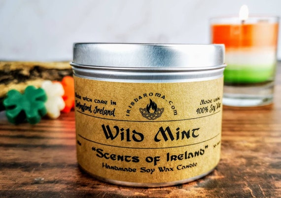 Wild Mint - Handmade Soy Candle