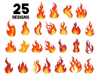 Fire Flame Clip Art - Fire Flame Png Vector , Free Transparent Clipart -  ClipartKey