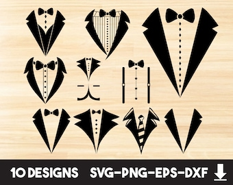 Suit Vector Etsy