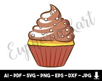 Cupcake svg,Cupcake clipart
