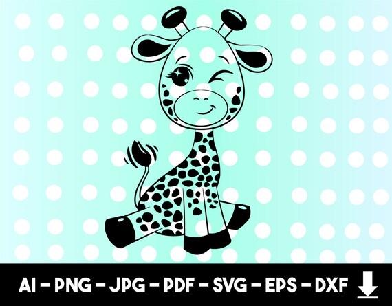 Giraffe Svg Giraffe Clipart Giraffe Cut Filegiraffe Svg Etsy