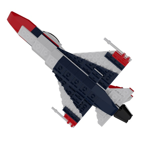 F-16 Thunderbirds Custom  Set  Military Sets  Air Force Christmas  Gifts for Men  Boys Gifts  Air Force Gift