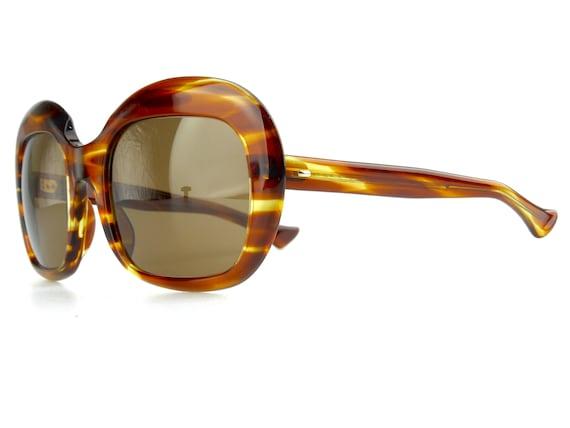 vintage 1970's rare French tortoiseshell sunglasse