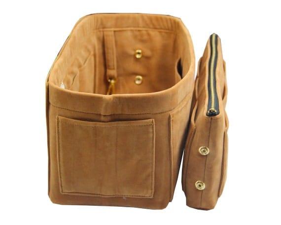 Light Soft Sturdy Type Q+ Velvet Purse Insert Organize Designers Bag Keep Tote Bag in Shape Fit Neverfull Speedy Birkin Le Pliage Artsy