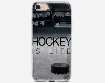 Fundas Ice Hockey is Life Quotes Soft Clear TPU Silicone Phone Case For iPhone  Xs Xr Max 7 8 6 6S Plus 5S SE 5 For iPod Touch 5 6 Cover. 4342e6188