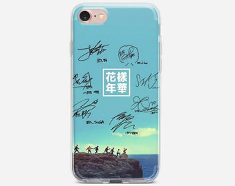 Capa BTS Bangtan Boys Soft Clear TPU Silicone Case For iPhone Xs Xr Max 7 8  6 6S Plus 5S SE 5 Cover For iPod Touch 5 6 Case. 102a77088