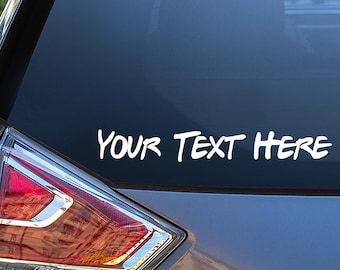 Personalized Vinyl Decal   Name Decal   Custom Lettering   Vinyl Decal for Cars, Trucks, Cups, Laptops, Coolers, etc.