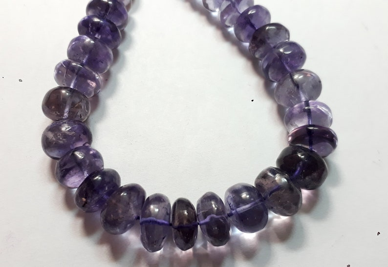 390 Cts Natural Purple Amethyst Round Cabochon Gemstone Necklace