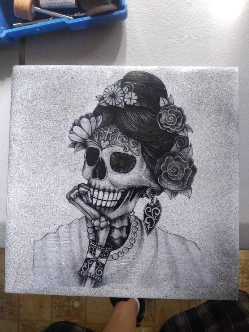 6cde0db04cc05 Female sugar skull | Etsy